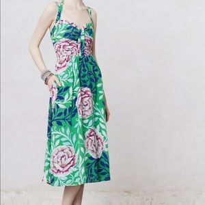Moulinette Soeurs Rosamund Midi Dress